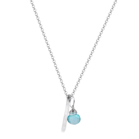 b.u. Apatite Positivity Necklace