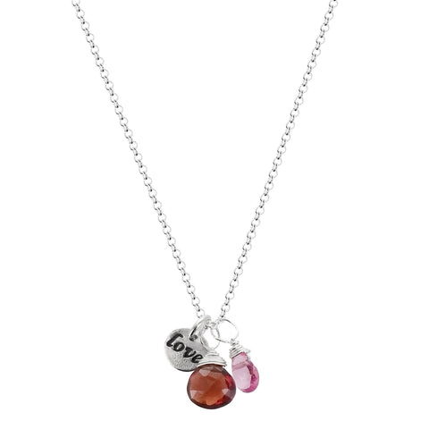 b.u. Beautiful Through Eyes Of An Open Heart Necklace