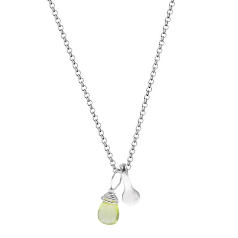 b.u. Peridot Harmony Necklace