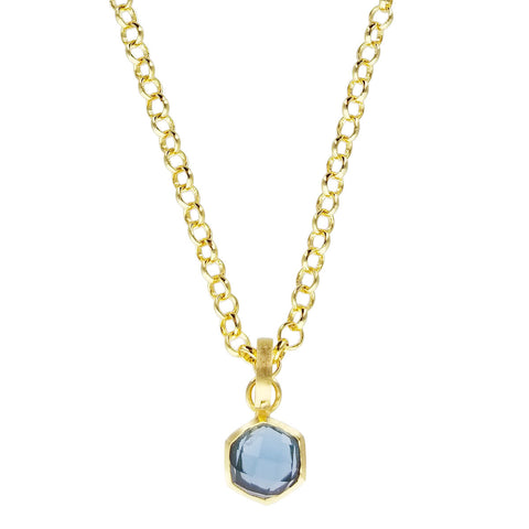 Betty Carre Aziza London Blue Necklace