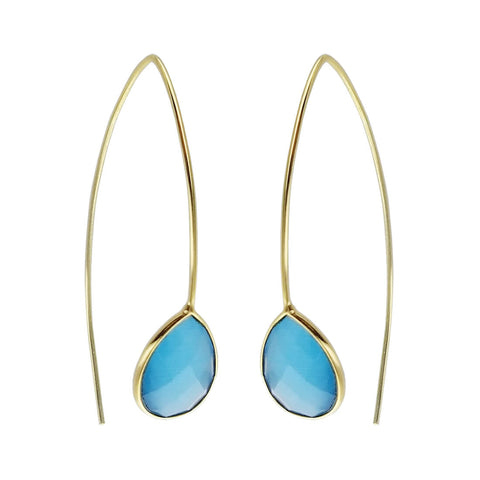 Betty Carre Lani Ice Blue Earrings