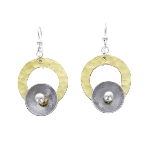 Chick Boss Cup On Hoop Tide Earrings