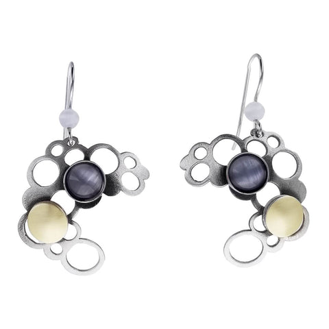 Christophe Poly Circles Cloud Earrings