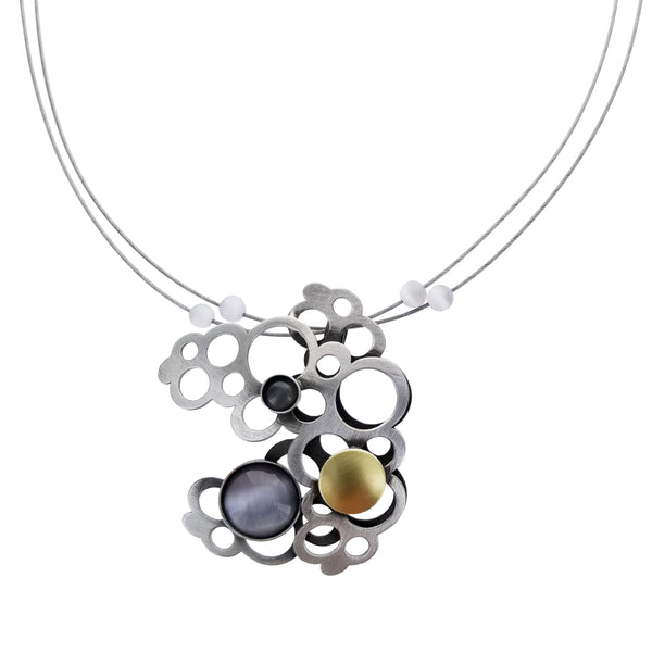 Christophe Poly Circles Cloud Necklace