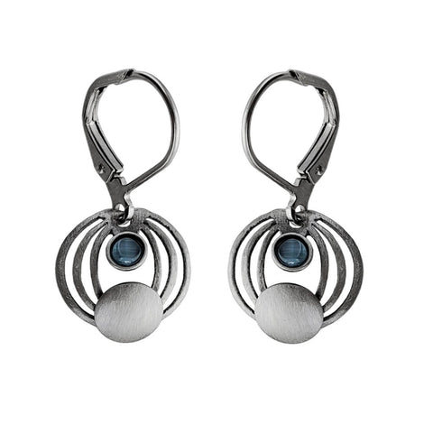 Christophe Poly Concentric Circles Earrings