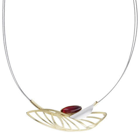 Christophe Poly Dragonfly Wing Necklace