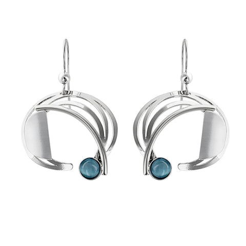 Christophe Poly Dynamic Crescent Earrings