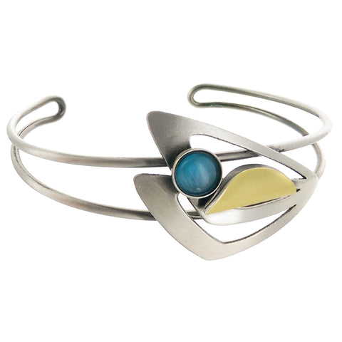 Christophe Poly Dynamic Mixed Metal Cuff