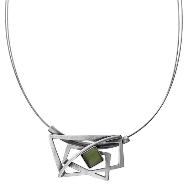Christophe Poly Dynamic Rectangles Necklace