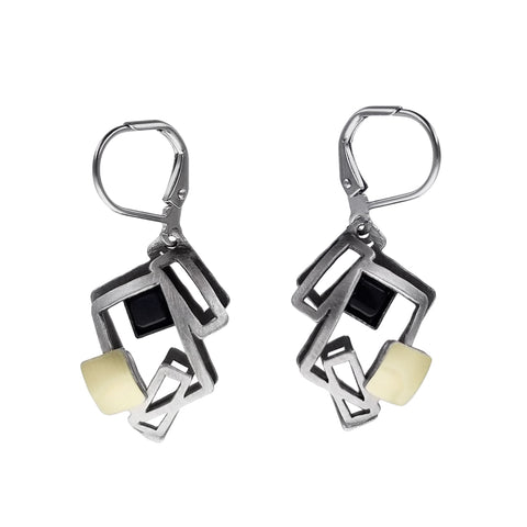 Christophe Poly Energetic Angles Earrings
