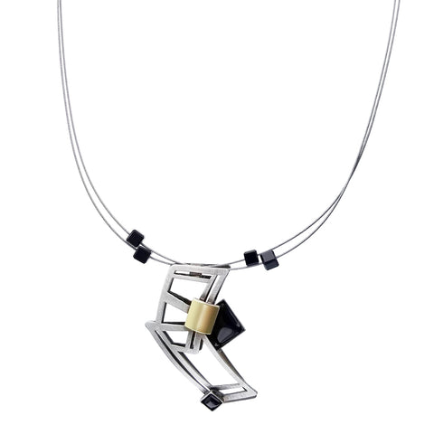Christophe Poly Energy Rectangles Necklace