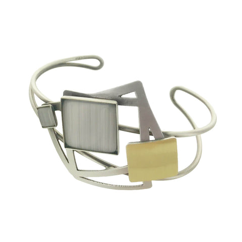 Christophe Poly Five Squares Cuff