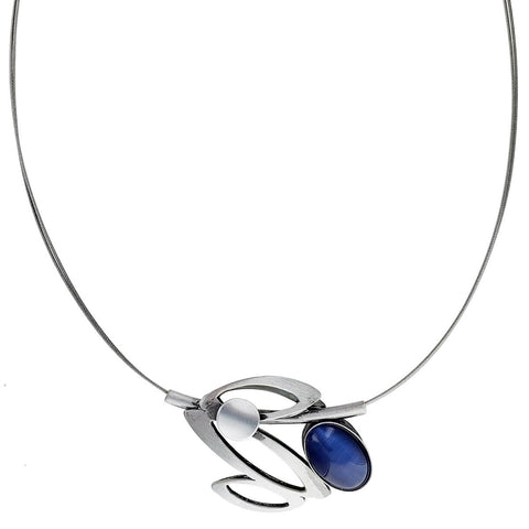Christophe Poly Floating Leaves Necklace