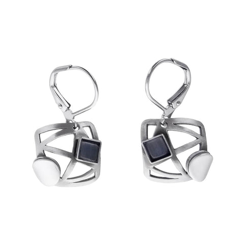 Christophe Poly Geometric Shape Earrings