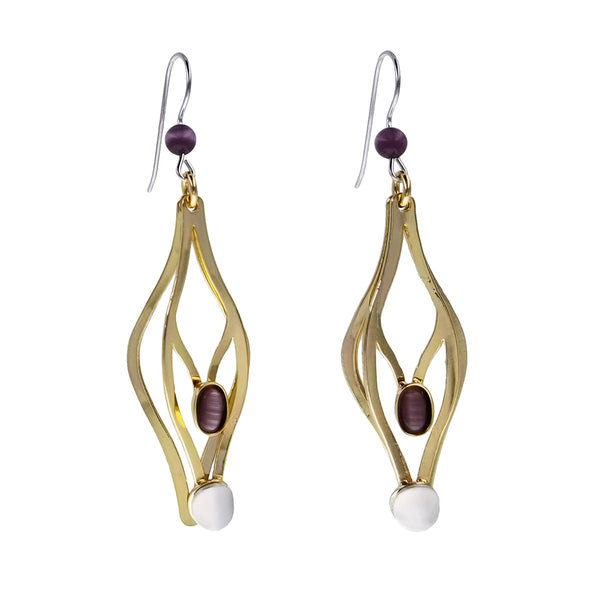 Christophe Poly Handstand Earrings