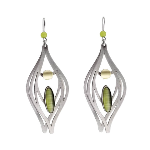 Christophe Poly Large Teardrop Earrings