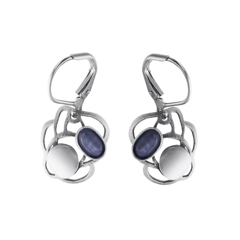 Christophe Poly Mini Cloud Lever Back Earrings