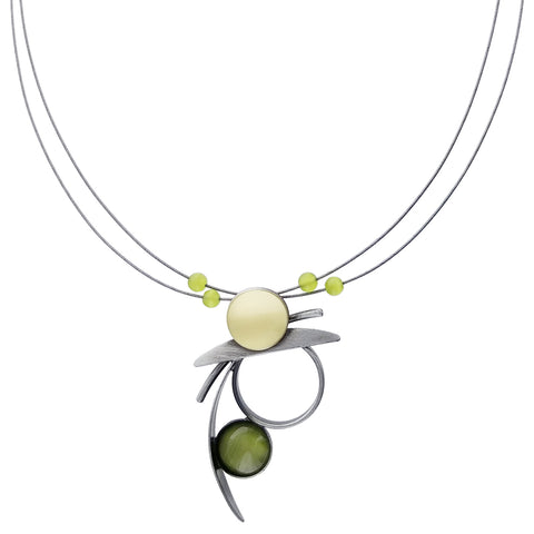 Christophe Poly Abstract Miro Necklace