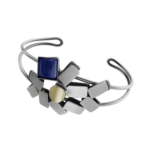 Christophe Poly Rectangle Reunion Bracelet