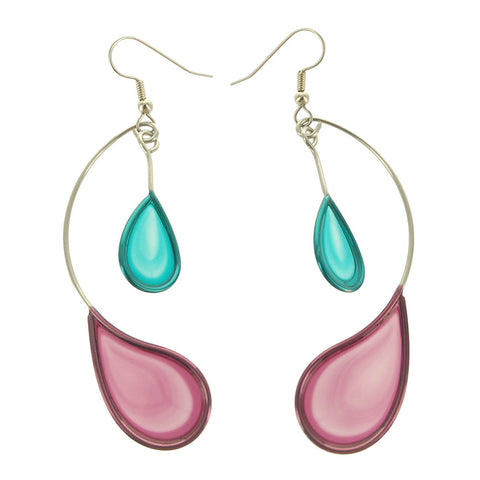 Christopher Royal Two Teardrops Earring