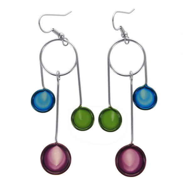 Christopher Royal Lolipop Drop Earrings