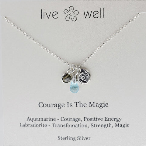 Courage Is The Magic Necklace