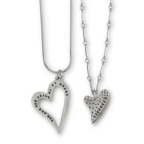 Kathy Bransfield Daughter Heart Necklace