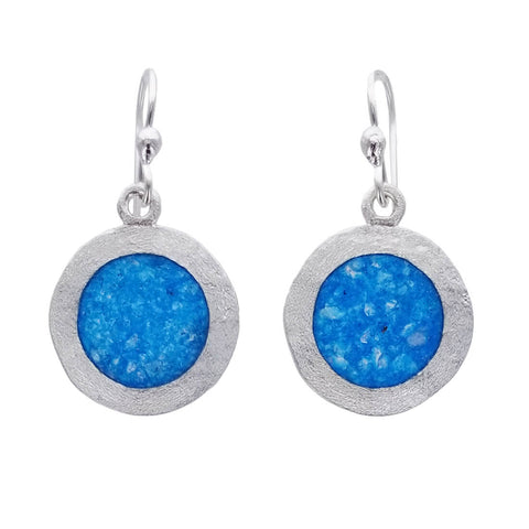 David Urso Blue Moon Sterling Silver Earrings