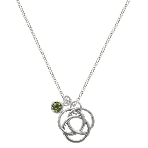 Celtic Knot Friendship Protection Necklace