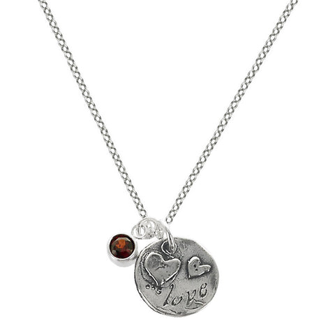 Love Between Mother And Daughter Necklace