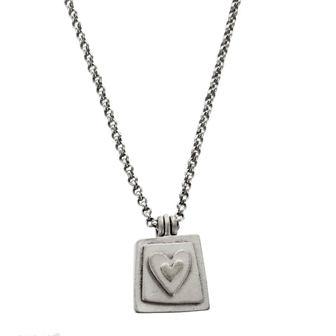 Emily Rosenfeld Heart Love Locket Necklace