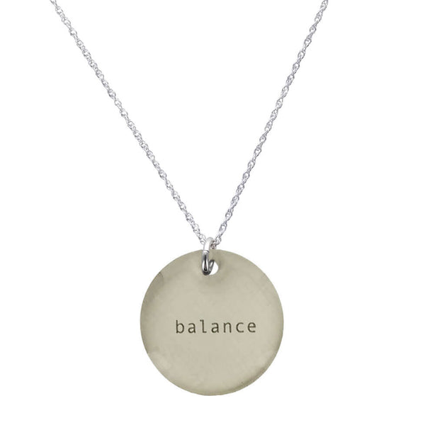 Everyday Artifact Balance Necklace