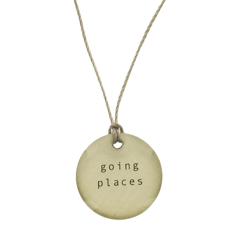 Everyday Artifact Going Places Necklace