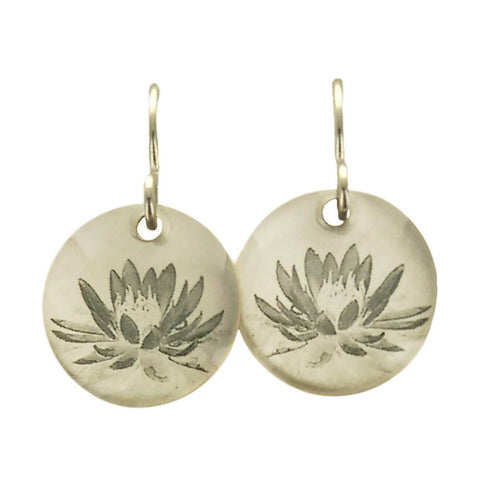 Everyday Artifact Lotus Earrings