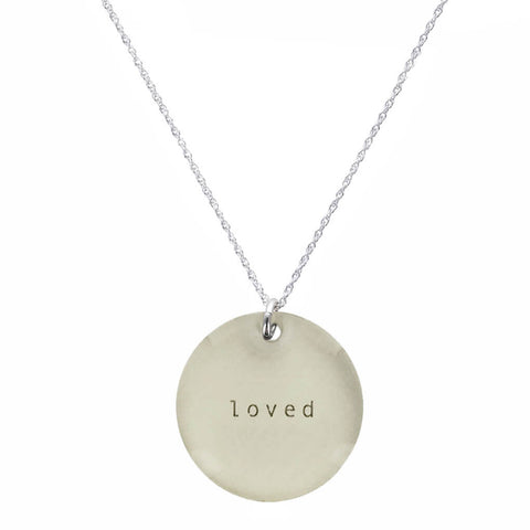 Everyday Artifact Loved Necklace