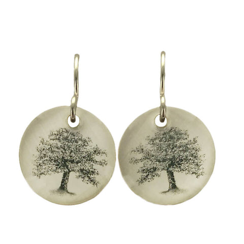 Everyday Artifact Oak Tree of Life Earrings
