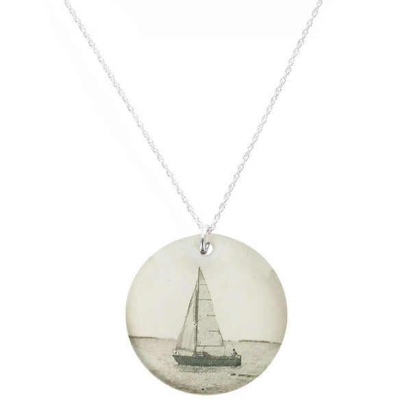 Everyday Artifact Sailboat Necklace