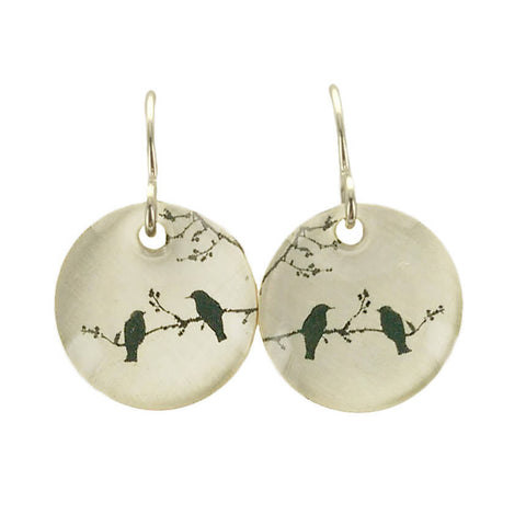 Everyday Artifact Two Birds Earrings