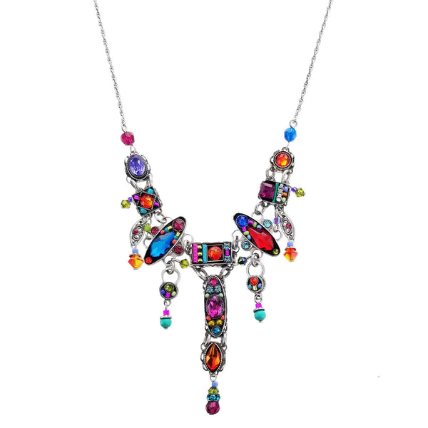 Firefly Colorful Milano Mosaic Necklace