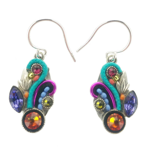 Firefly Mosaic Curves Earrings