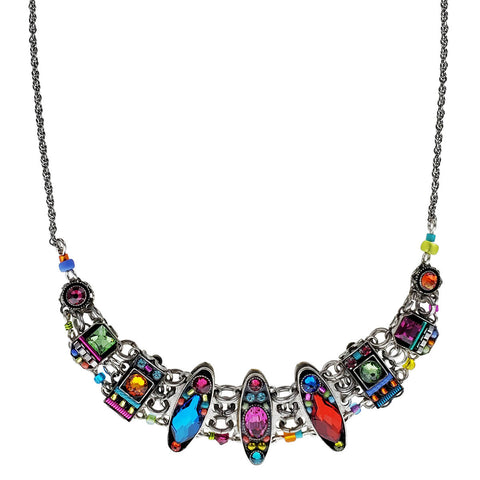 Firefly Mosaic Colorful Love Joy Believe Necklace