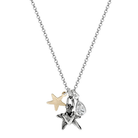 Friends Are The Stars That Light Up Your Life Necklace