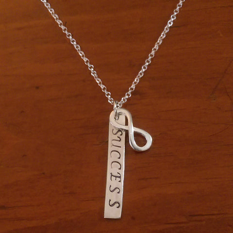 Infinite Success Sterling Charm Necklace