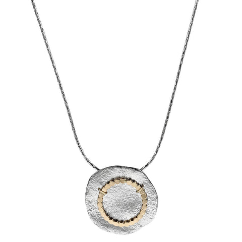 Israeli Dganit Hen Winter Moon Necklace