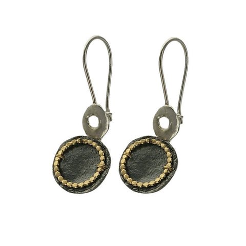 Israeli Multi Toned Circles Earring