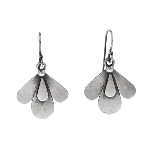 Julia Britell Triple Petal Earrings