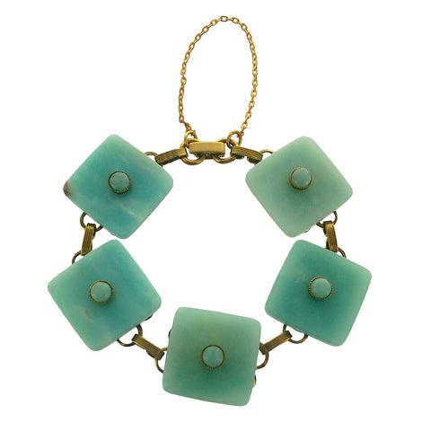 Jan Michaels Amazonite Squares Bracelet