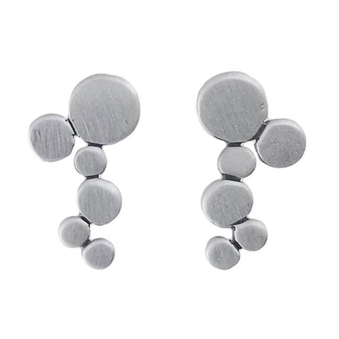 Jane Diaz Cascading Bubbles Post Earrings