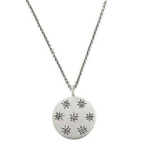 Jane Diaz Seven Stars Diamond Necklace