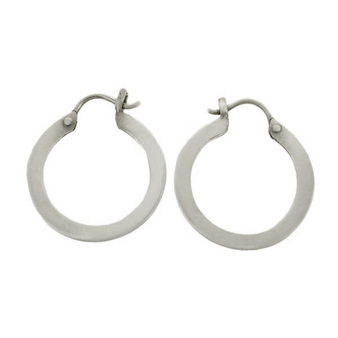 Jane Diaz Nepalese Hoop Earrings
